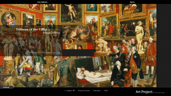 Google Art Project, Tribuna of the Uffizi