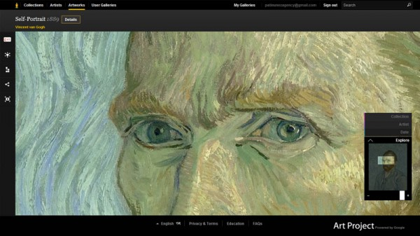 Google Art Project, Van Gogh