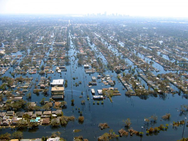"""New Orleans after Hurricane Katrina"""